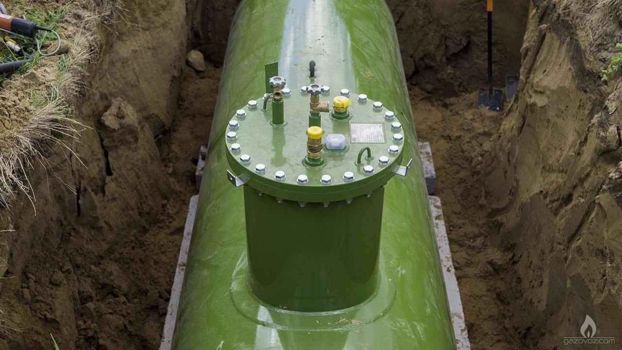 Газгольдер— основной элемент системы автономной газификации