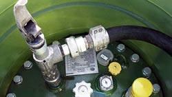 Стоимость заправки газгольдера