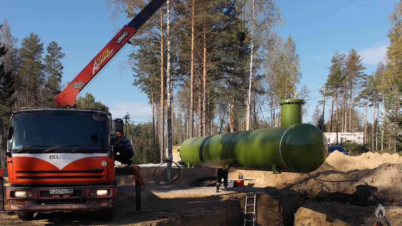 Монтаж автономного газового оборудования для дома